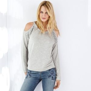NWT INC Cold Shoulder Sweater